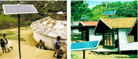 Principle solar photovoltaic power generation